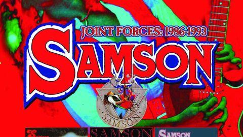Cover art for Samson - Joint Forces: 1986-1993 album