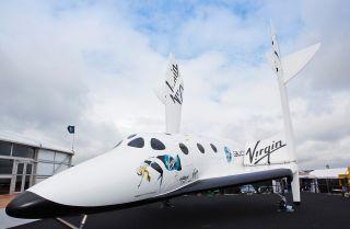 Virgin Galactic Full Size SpaceShipTwo Replica