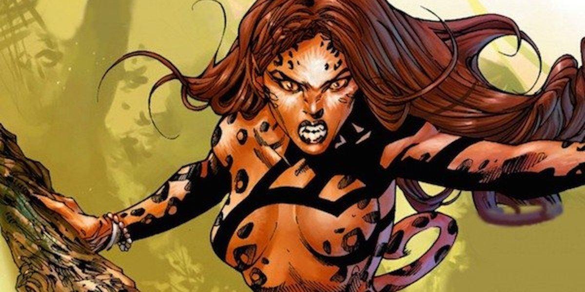 Cheetah in Wonder Woman comics