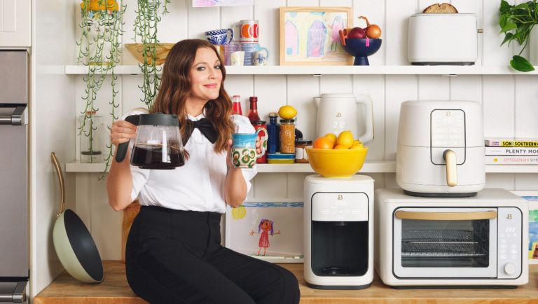 Drew Barrymore kitchenware line with Walmart.