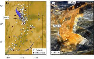 Bingham Canyon Copper Mine Landslide