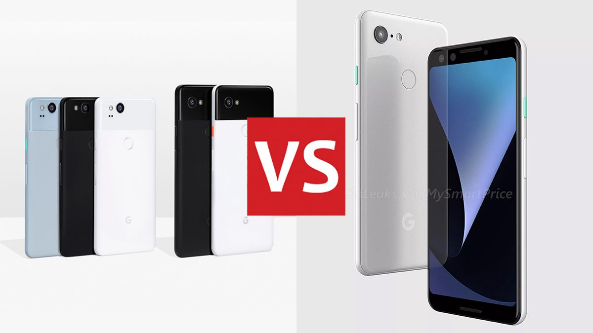 Pixel 2 vs Pixel 2 XL vs Pixel 3 vs Pixel 3 XL: Google's old and new phones, compared