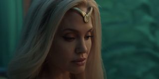 Angelina Jolie as Thena in Marvel's 'The Eternals'