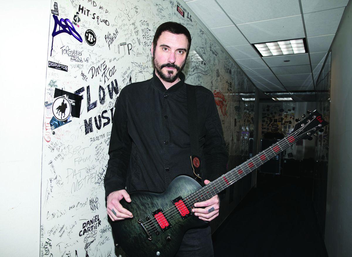 breaking benjamin 39 s benjamin burnley talks new album 39 embers 39 guitarworld. Black Bedroom Furniture Sets. Home Design Ideas