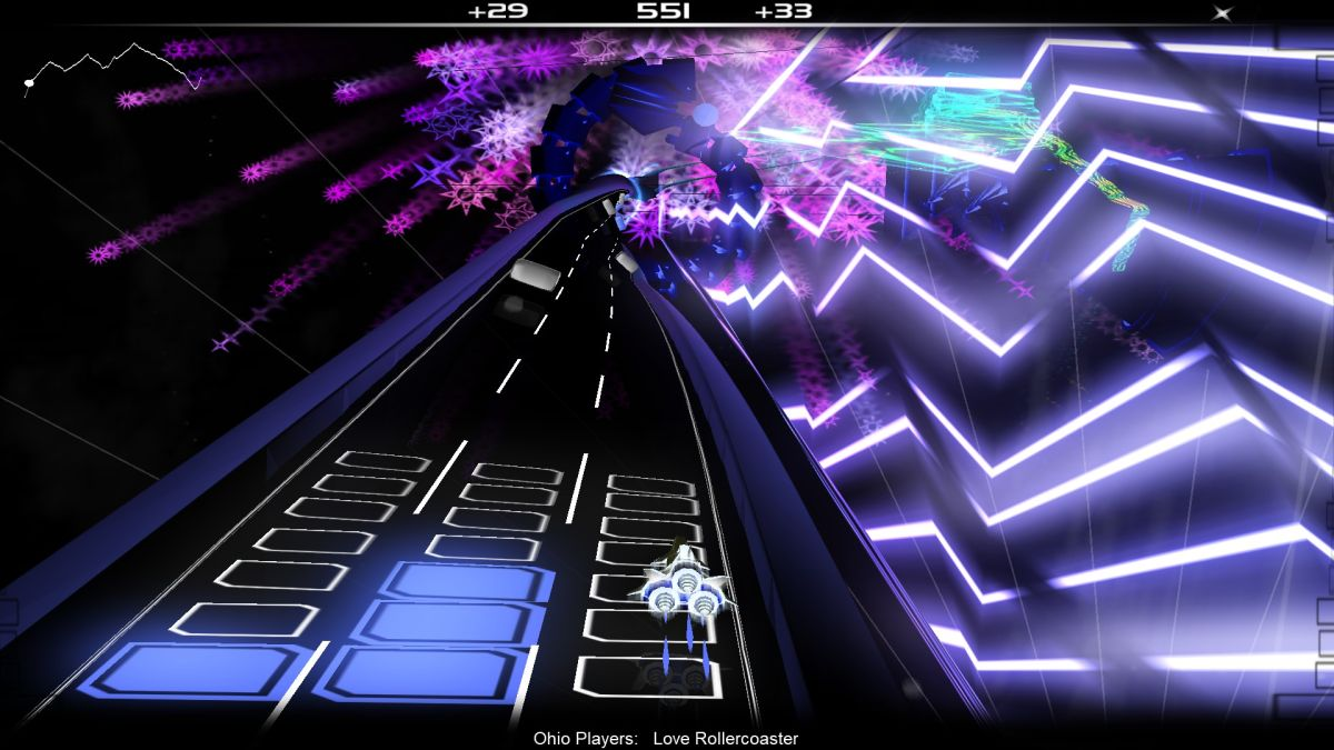 Audiosurf, 12 years old this month, just received an update