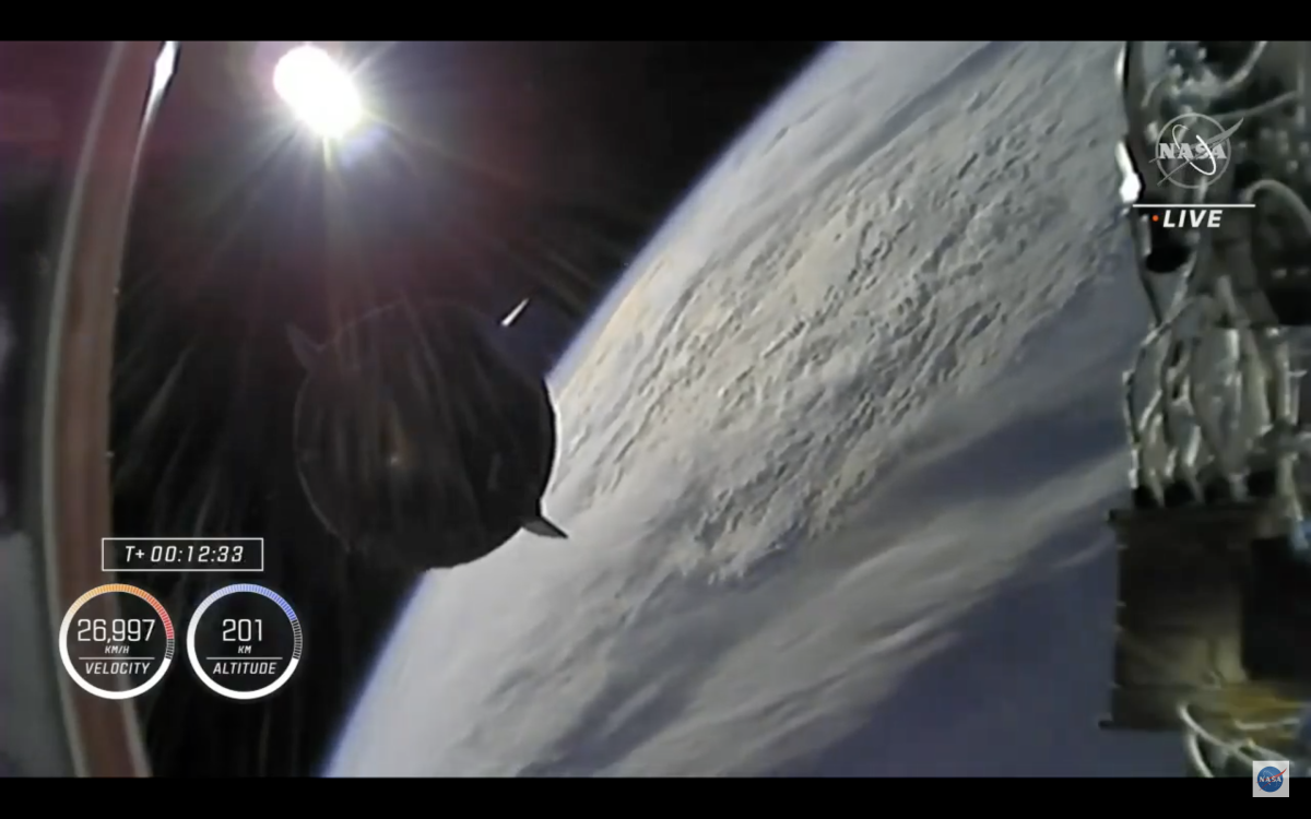 Watch live: SpaceX Crew-2 Dragon headed to space station