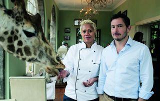 Giles Coren and Monica Galetti are in Kenya this week at Giraffe Manor, a five-star colonial lodge near Nairobi.