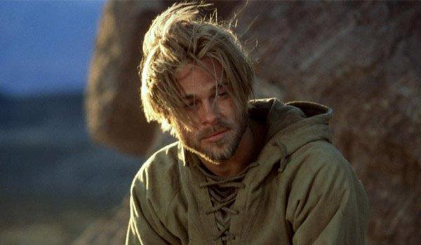 Brad Pitt in Seven Years In Tibet