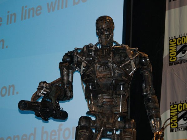 Comic Con In Photos: Terminator Salvation's T-600 #115
