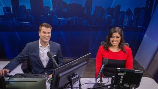 WGN News Now Chip Brewster and Christine Flores