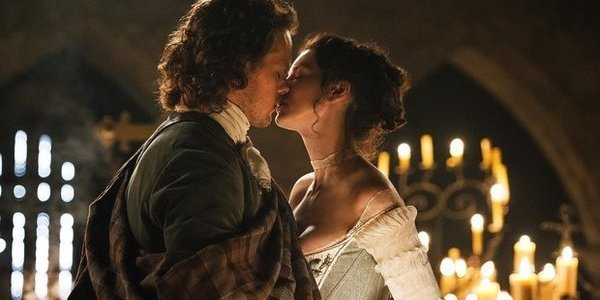 outlander jamie claire wedding episode