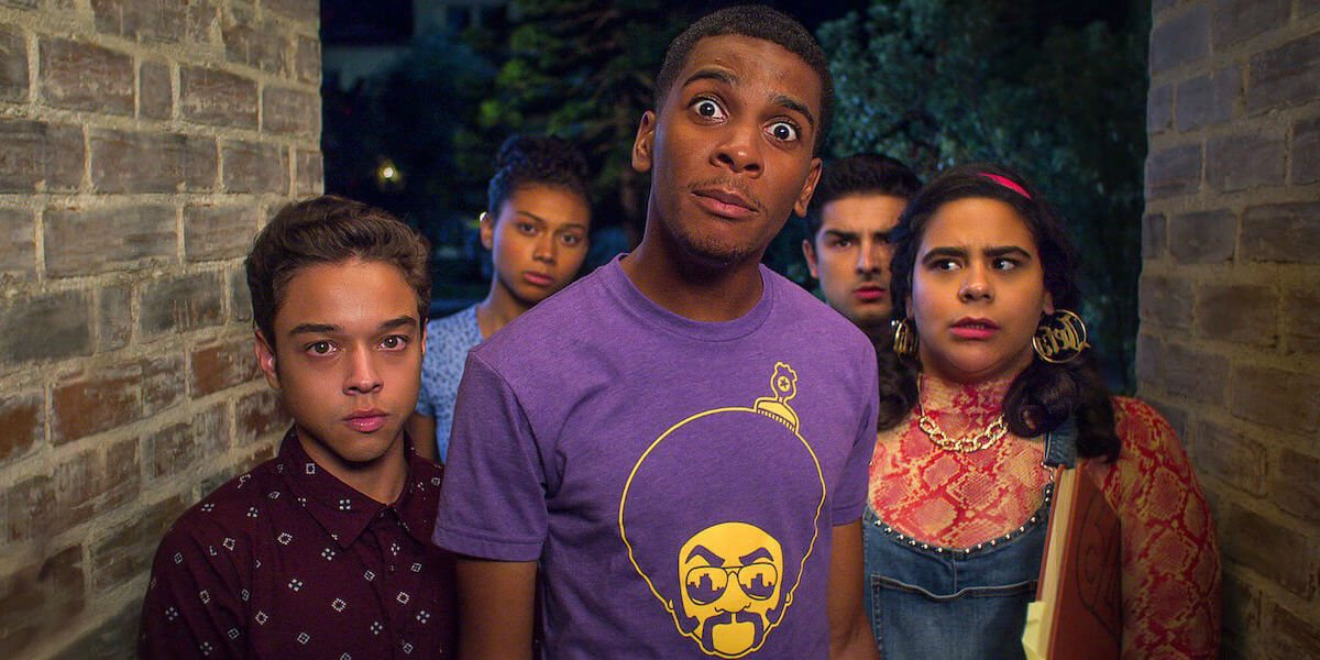 The cast of On My Block has questions.