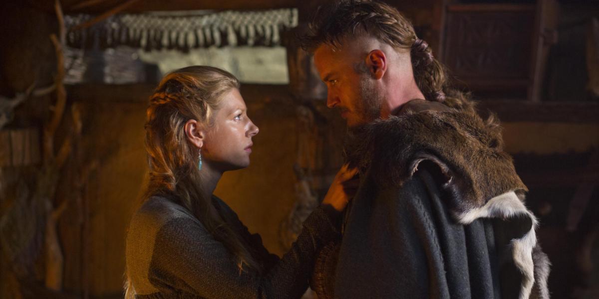 Vikings Katheryn Winnick Lagertha Travis Fimmel Ragnar Lothbrok History
