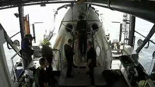 SpaceX return