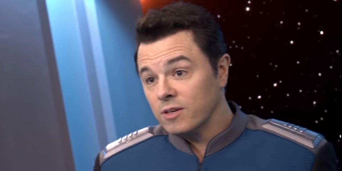 seth macfarlane's captain ed in the orville season 2