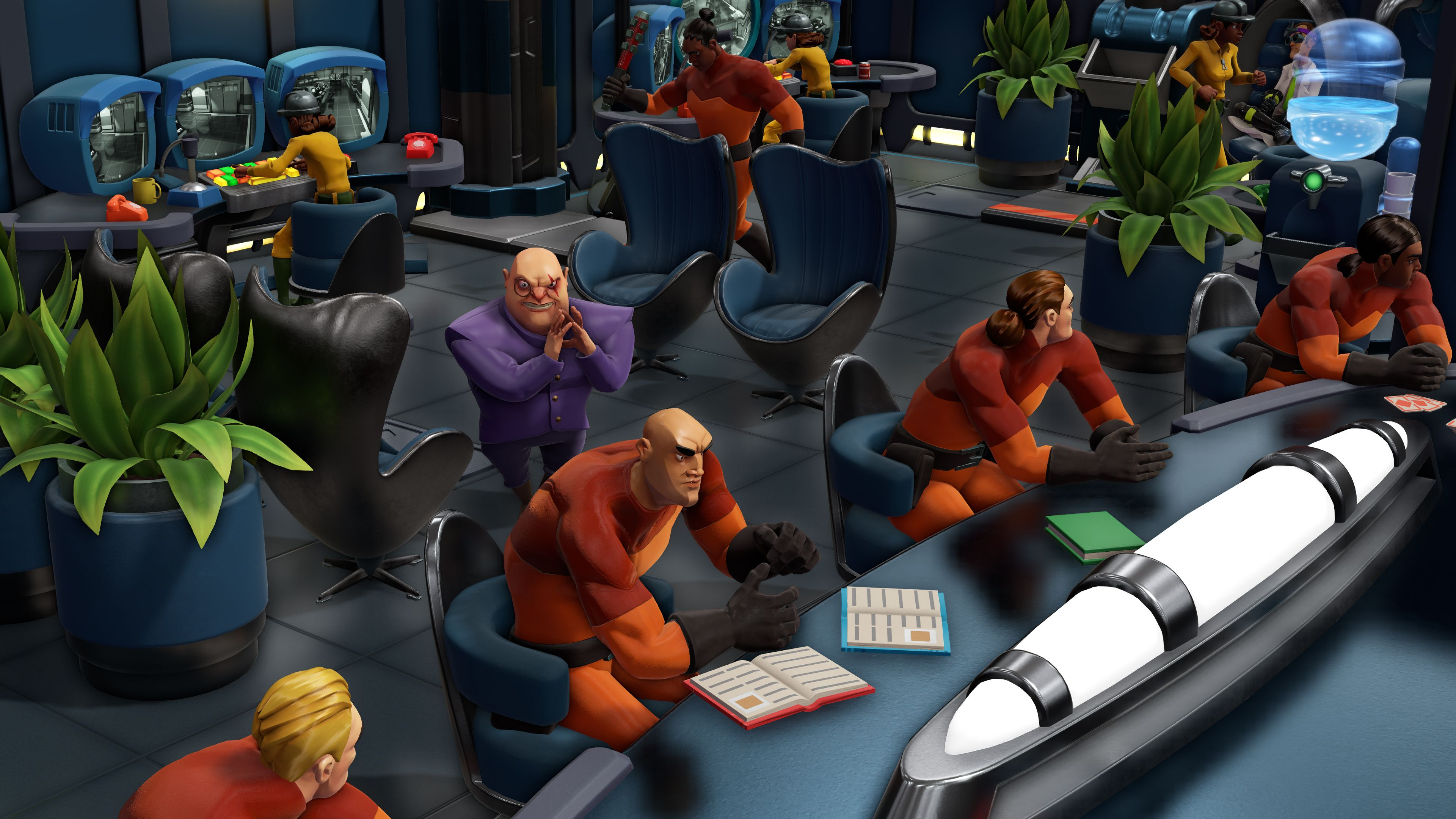 Evil Genius 2 trailer explains how to achieve world domination, free and paid post-launch content confirmed