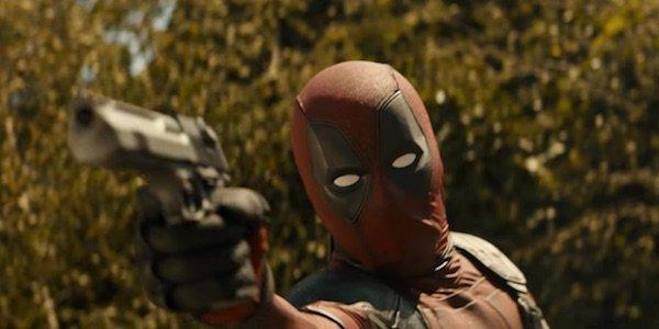 Deadpool holding gun