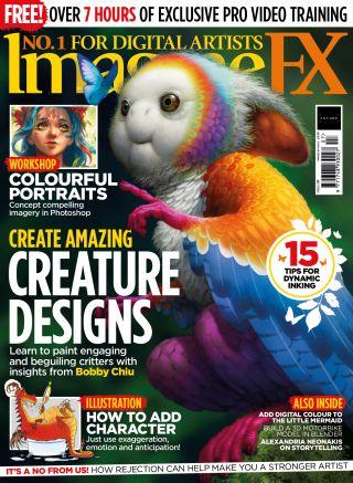 ImagineFX 201 cover