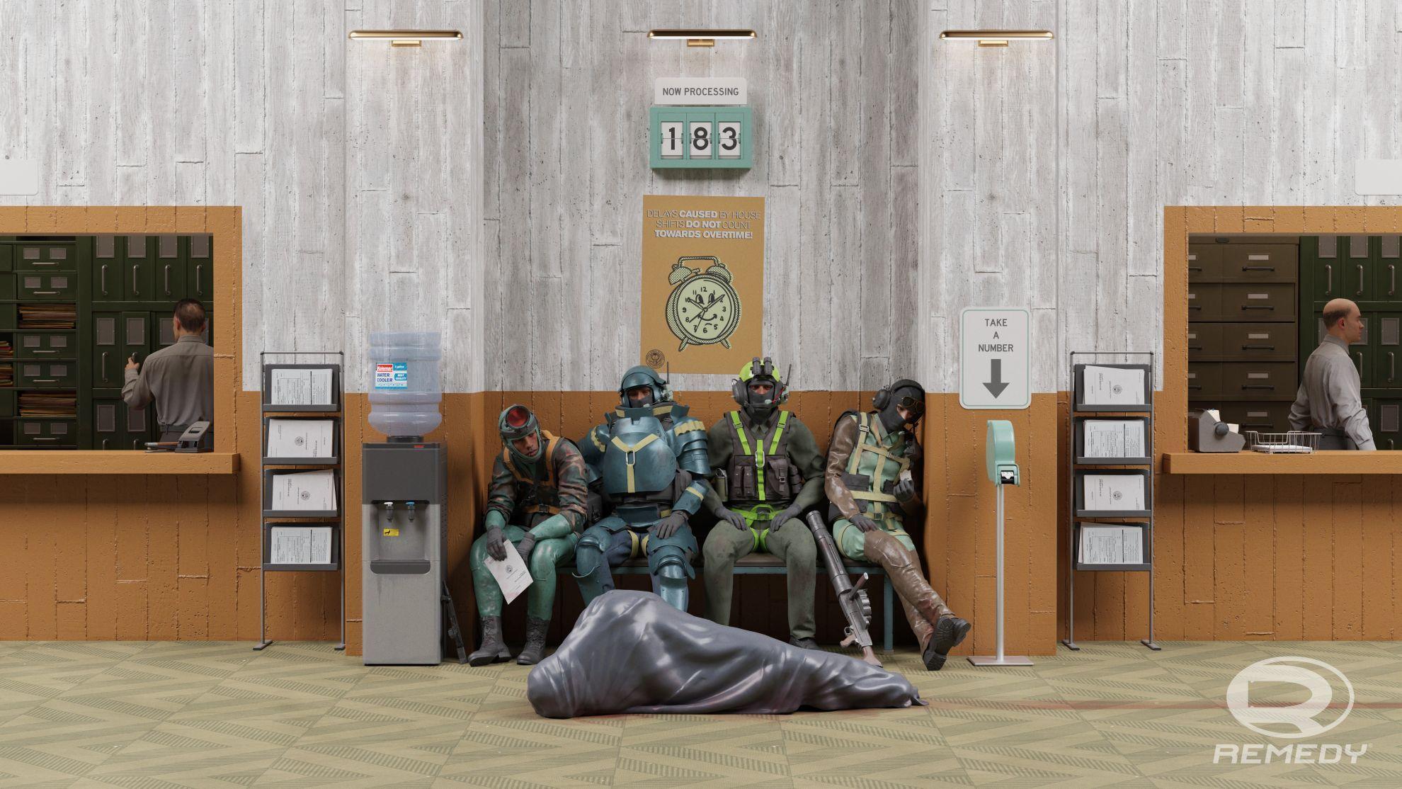 Condor waiting room