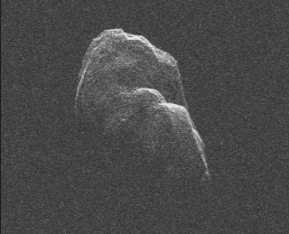 Radar Image of Asteroid Toutatis
