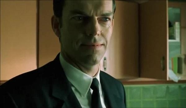 The Matrix Revolutions Agent Smith Smile