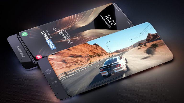 Samsung Galaxy Surround Display phone