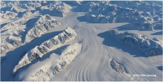 Glacial ice flow GoLIVE project