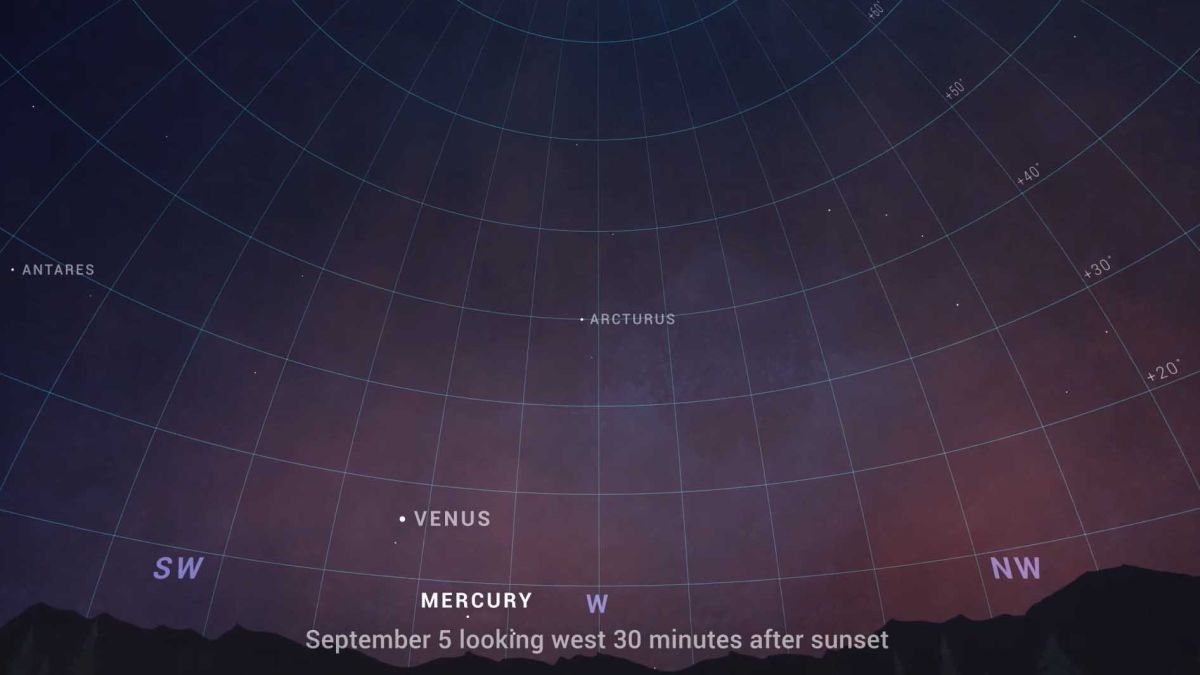 How to see Venus shine with bright star Spica tonight and maybe spot Mercury, too
