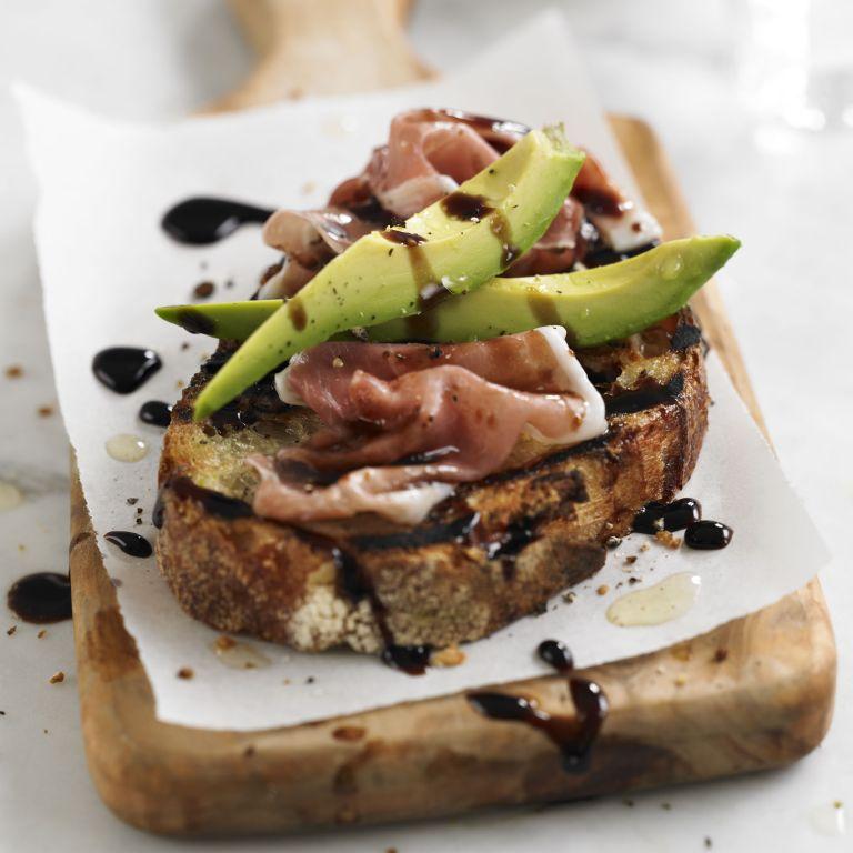 Avocado & prosciutto balsamic toasties recipe-recipe ideas-new recipes-woman and home