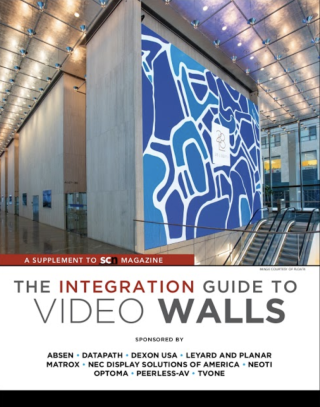 The Integration Guide to Video Walls - SCN July 2019