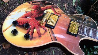 Gibson Spider-Man Les Paul Custom