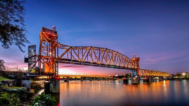 Junction Bridge,Little Rock Arkansas USA