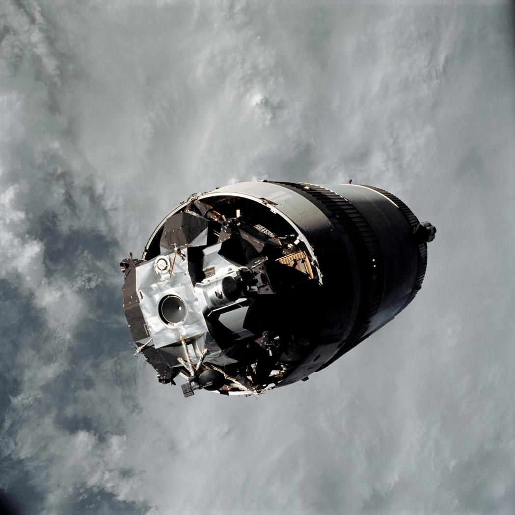 Apollo 9 in Photos: NASA Tests the Spidery Lunar Module