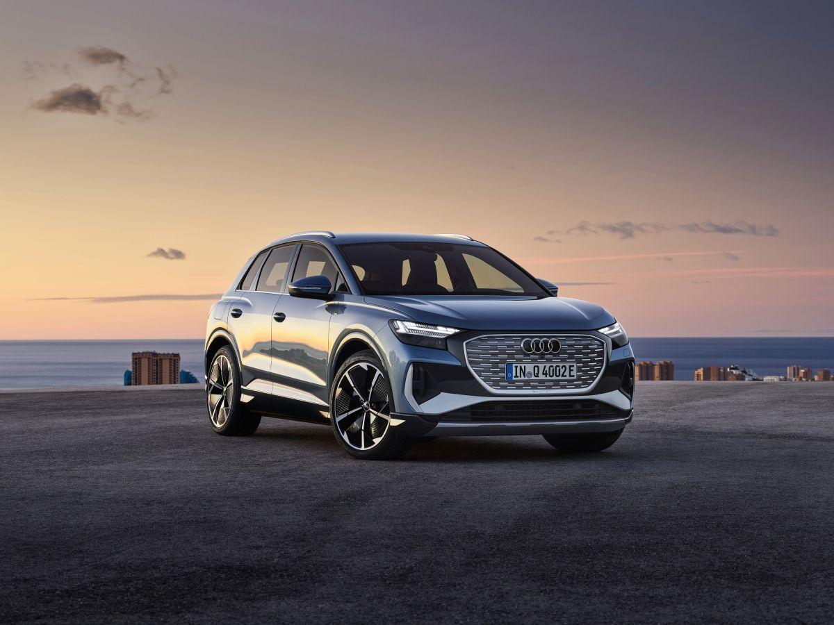 Audi Q4 e-tron unveiled — and it undercuts Tesla Model Y