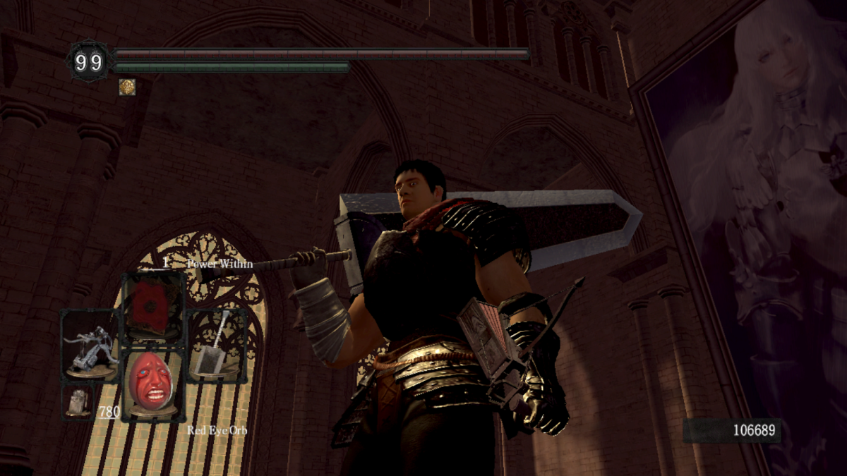You can now play as Berserk's Guts in Dark Souls | PC Gamer