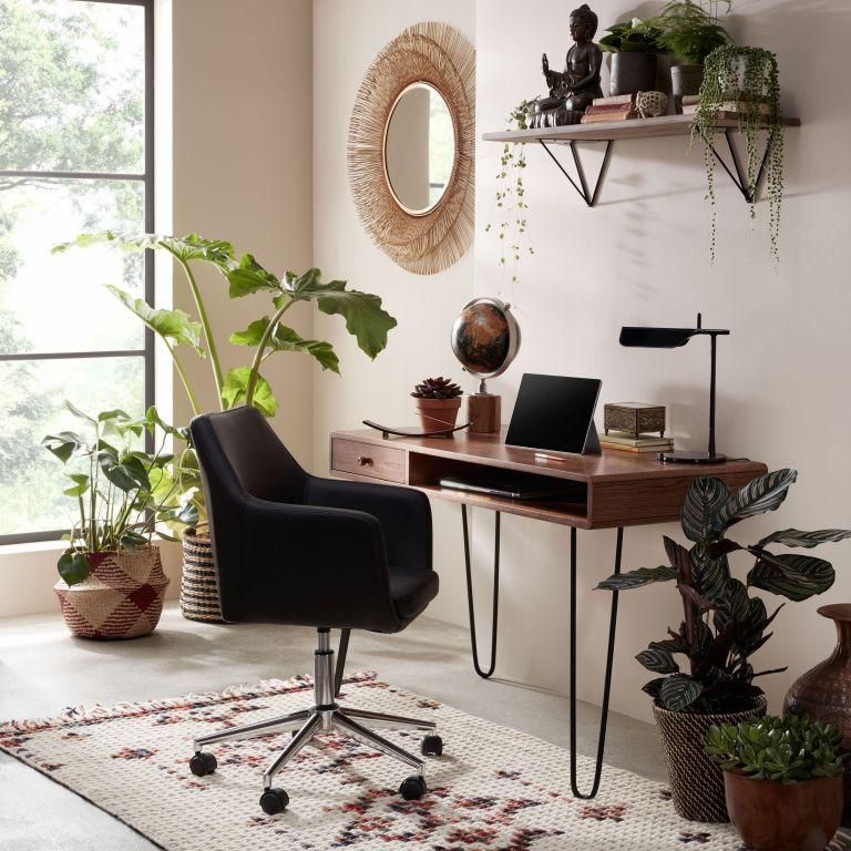 John Lewis broadband deals: John Lewis desk in a modern home office