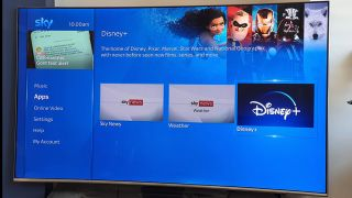Sky will support Disney Plus' 4K content 'later this year'