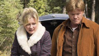 Kirsten Dunst and Jesse Plemmons in Fargo