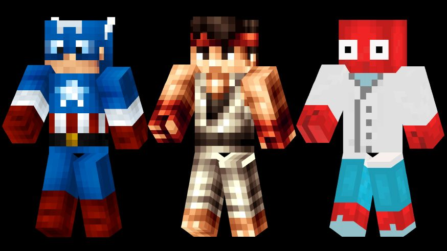 The Best Minecraft Skins PC Gamer - Skins para minecraft zelda