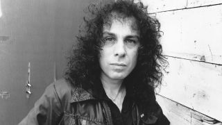 Ronnie James Dio pictured in the 1980s