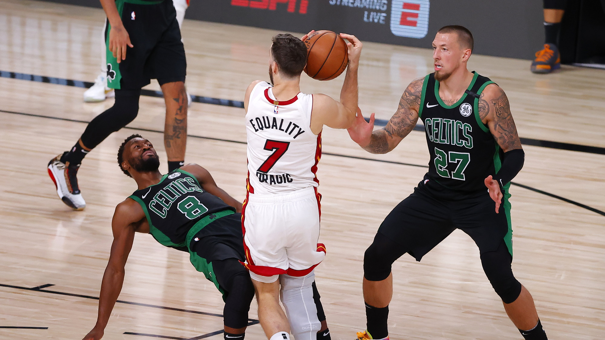 Celtics vs Heat live stream: how to watch game 3 of NBA playoffs 2020 from anywhere thumbnail