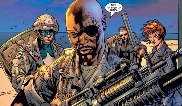 Image result for young nick fury comics