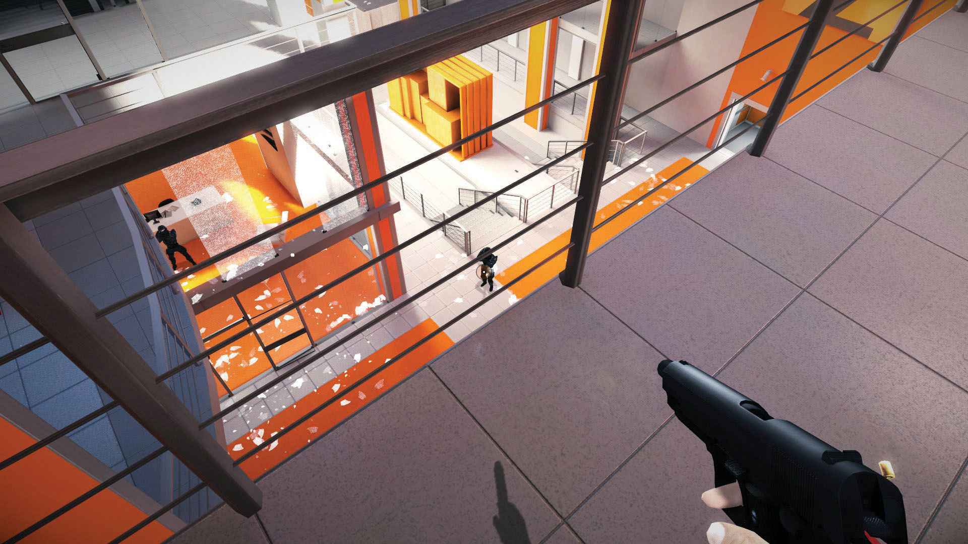 Picking every fight in Mirror's Edge, part 2 | PC Gamer