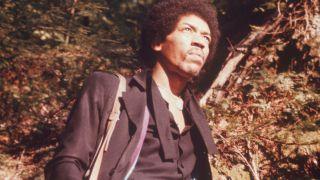 A shot of Jimi Hendrix