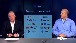 David Zaslav of Discovery and AT&T's John Stankey discuss their deal