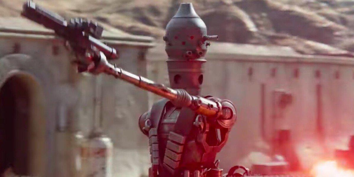 Taika Waititi as IG-11 on The Mandalorian