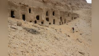 About 250 tombs have been found cut into the sides of a hill in Egypt's Eastern Desert. They date between roughly 4,200 and 2,100 years ago.
