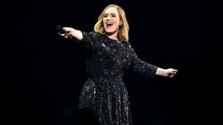 Adele performs at Genting Arena on March 29, 2016 in Birmingham, England