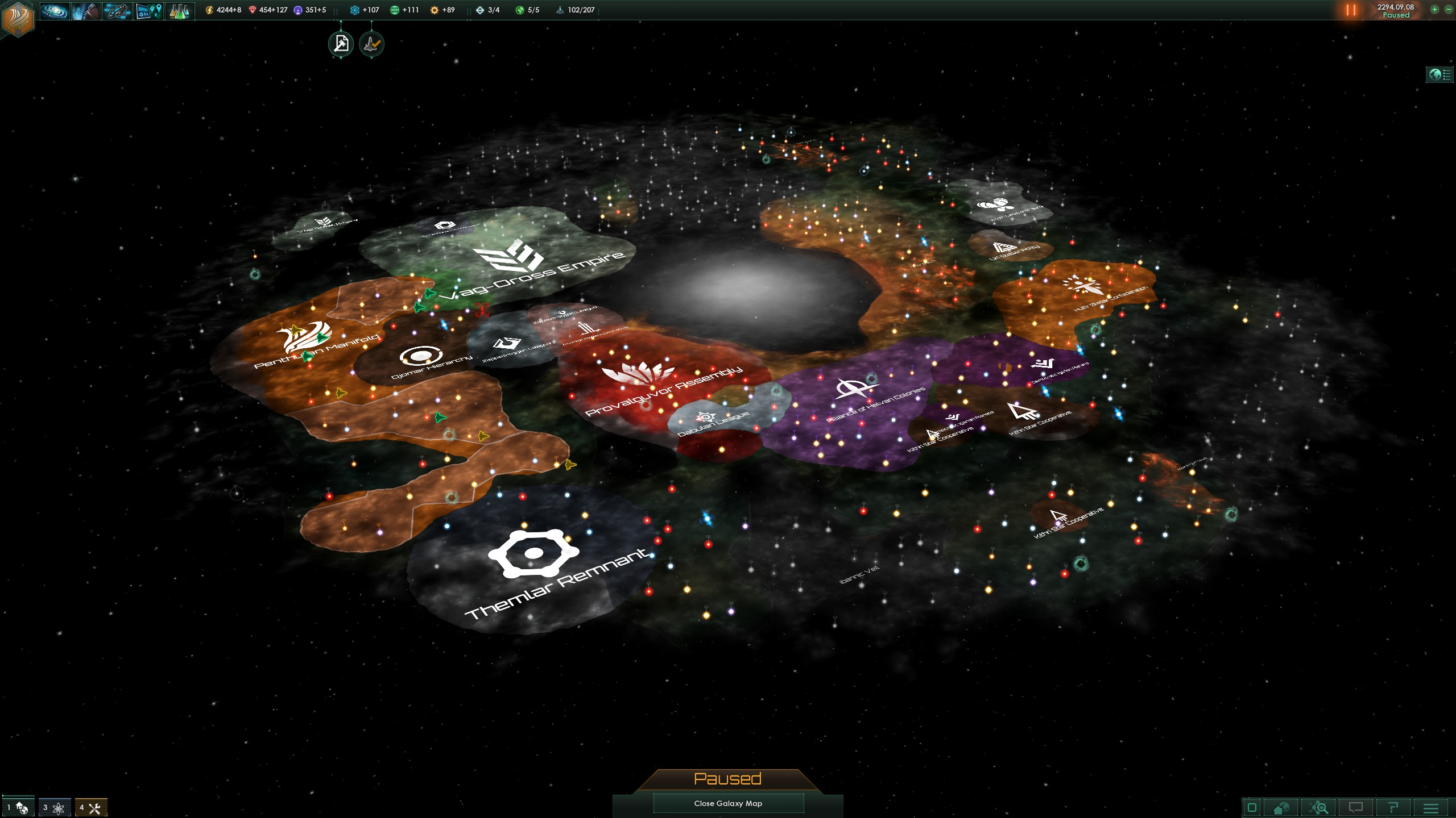 Stellaris outlines future, targets 'galactic community' and 'space