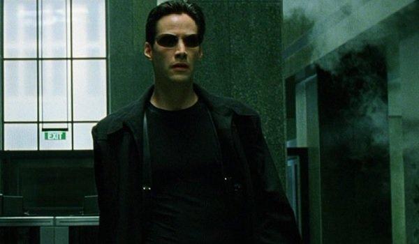 Keanu Reeves Lobby The Matrix
